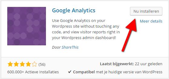 google-analytics-in-wordpress-installeren