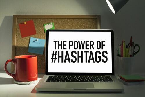 Hashtag gebruiken op Pinterest