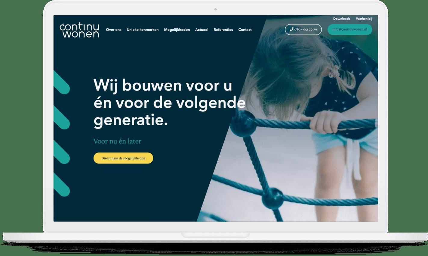 Website Continuwonen