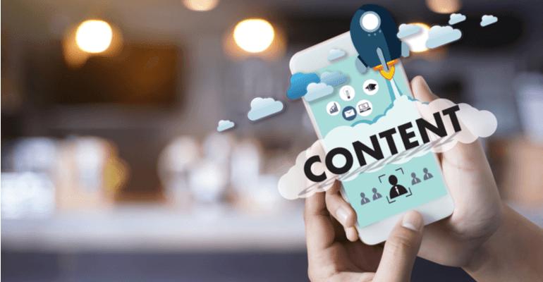 Laat geen steken vallen op het gebied van content