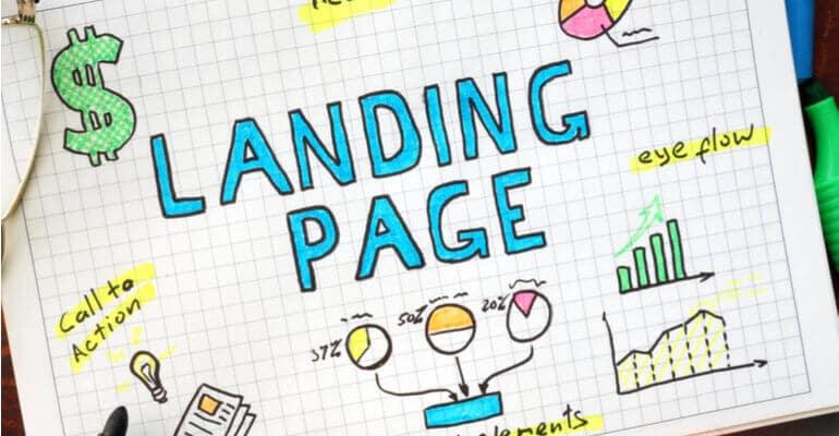 wat is een landing page